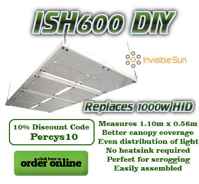 Invisible Sun LED Grow Lights