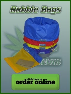 Bubble bags for making hash, cannabis growers forum, percys grow room, ali bongo