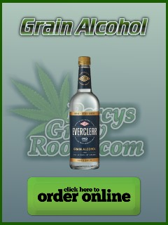 Buy grain alcohol for making FECO, Percys grow room,