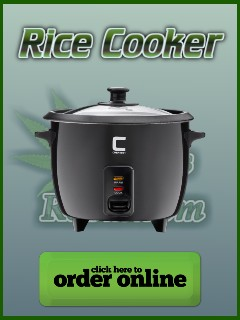 Rice cooker for making cannabis extracts, percys grow room, the cannabis growers community,