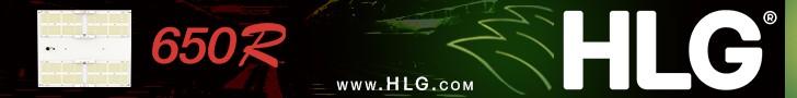 LED Grow Light for cannabis, HLG lighting, Percys Grow Room Ad