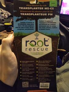 Root rescue Mycorrhizal Fungi front