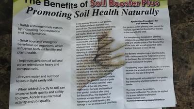 Soil Booster Plus Info
