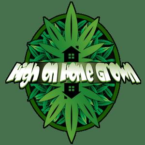 high on home grown logo